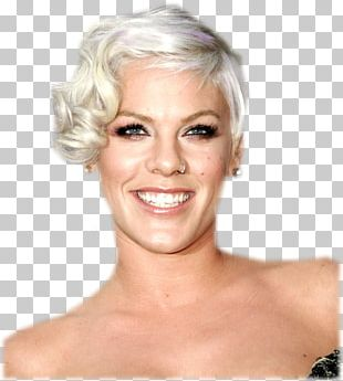 P!nk Hairstyle Bob Cut Afro-textured Hair PNG
