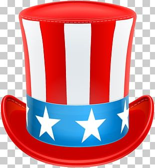 Uncle Sam United States Top Hat PNG
