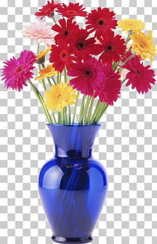 Vase Flower Floral Design Painting PNG