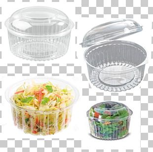 Plastic Coleslaw Bowl Packaging And Labeling Take-out PNG