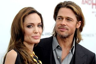 Angelina Jolie Brad Pitt Hollywood Mr. & Mrs. Smith In The Land Of Blood And Honey PNG