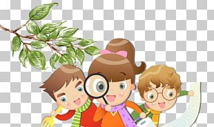 Child Cartoon Learning PNG
