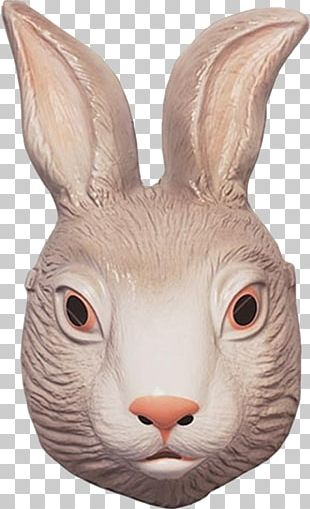 Easter Bunny Rabbit Mask Costume Clothing PNG