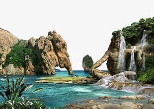 Rock Falls PNG