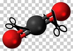 Carbon Dioxide Greenhouse Gas Chemistry Molecule PNG