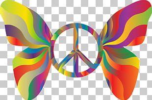 Peace Symbols 1960s Hippie PNG