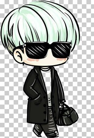 Chibi BTS Drawing Fan Art K-pop PNG