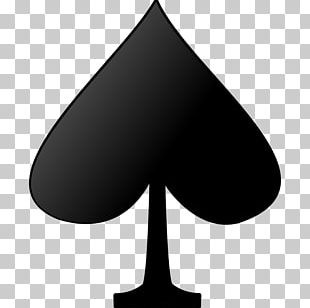Playing Card Suit Ace Of Spades Symbol PNG