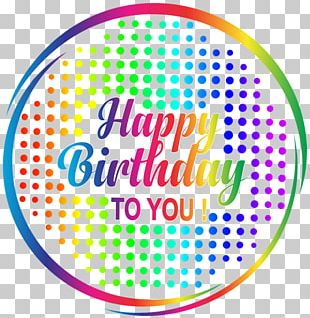 Birthday Cake Happy Birthday To You Plastic Canvas PNG