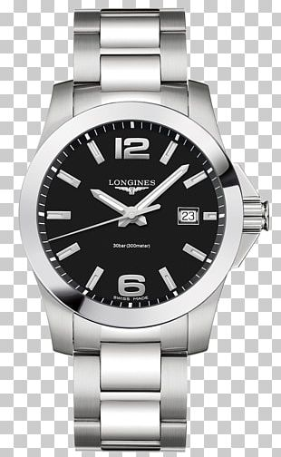 Longines Automatic Watch Baselworld Bracelet PNG