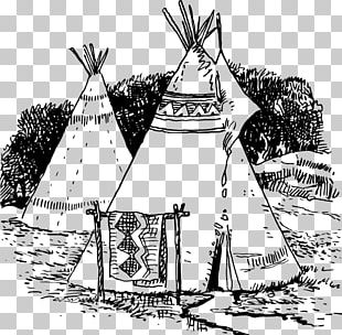Tipi Native Americans In The United States Indigenous Peoples Of The Americas Drawing PNG