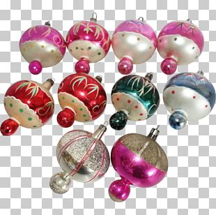 Christmas Ornament Christmas Decoration Bead Magenta PNG