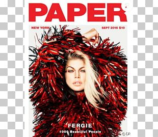 Fergie Magazine Paper Book Cover In Touch Weekly PNG