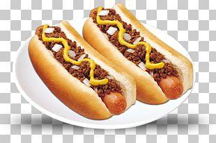 Chili Dog Coney Island Hot Dog Bratwurst PNG