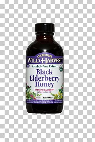 Dietary Supplement Elderberry Honey Extract Alcohol PNG