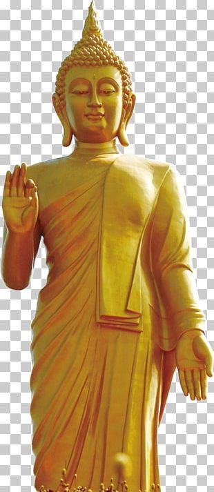 Golden Buddha Grand Buddha At Ling Shan Gautama Buddha Standing Buddha Daibutsu PNG