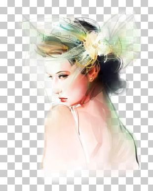 Fashion Illustration Illustrator Watercolor Painting PNG