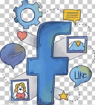 Facebook Social Media Social Network Blog LinkedIn PNG