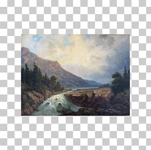 Lake District Painting Hill Station Geology PNG