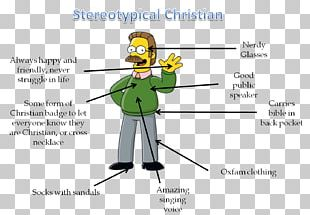 Ned Flanders Christianity Capital Punishment Belief PNG