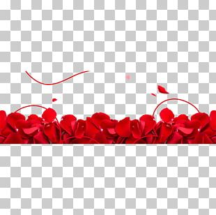 Beach Rose Petal Valentines Day Flower PNG