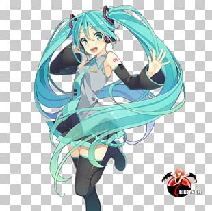 Hatsune Miku Vocaloid Anime PNG