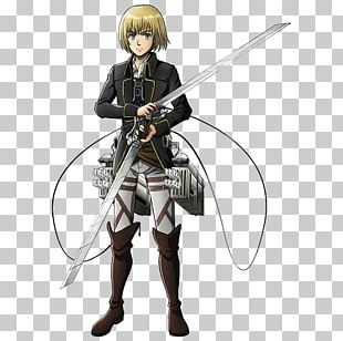 Armin Arlert Eren Yeager Mikasa Ackerman Attack On Titan A.O.T.: Wings Of Freedom PNG