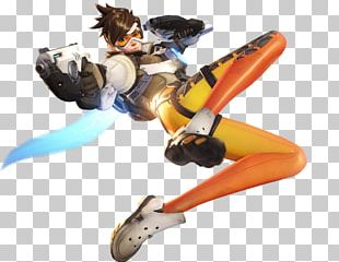 Characters Of Overwatch Mei Tracer PNG