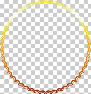 Gold Star Border PNG