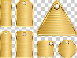 Metal Gold Euclidean PNG