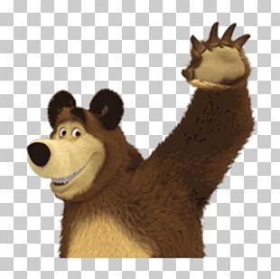 Bear Sticker Telegram Mammal Stuffed Animals & Cuddly Toys PNG