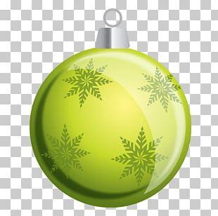 Christmas Ornament Snowflake Santa Claus PNG