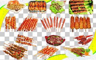 Barbecue Teppanyaki Chuan Skewer Meat PNG