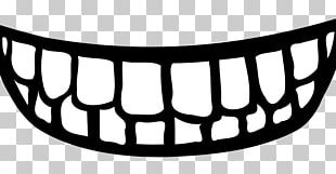 Smile Drawing Tooth Mouth PNG