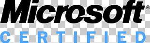 Microsoft Certified Professional Logo Microsoft Corporation Certification Akademický Certifikát PNG