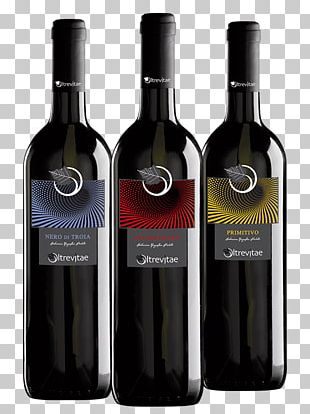 Red Wine Glass Bottle Grappa Liqueur PNG