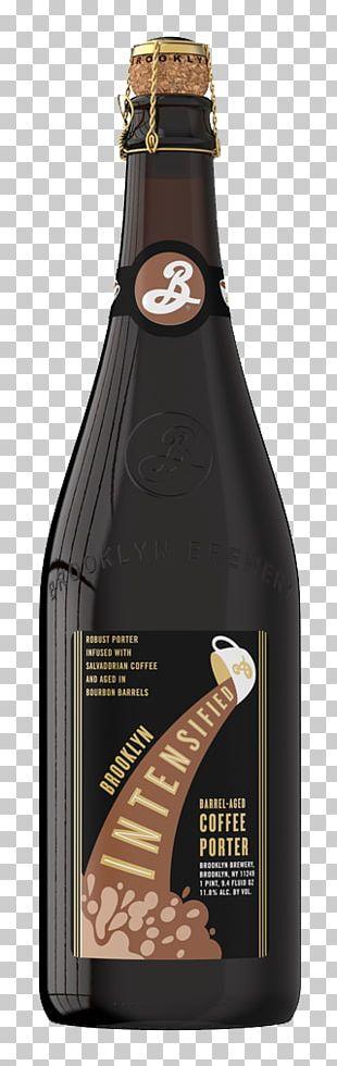 Brooklyn Brewery Beer Bottle Porter Wine PNG