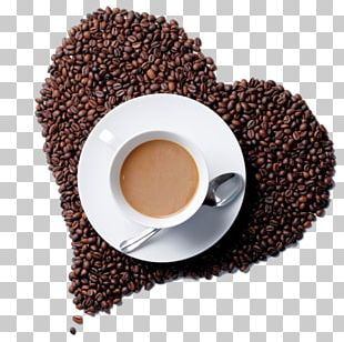 White Coffee Cafe Tea Coffee Bean PNG