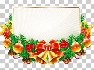 Borders And Frames Christmas Decoration Candy Cane PNG