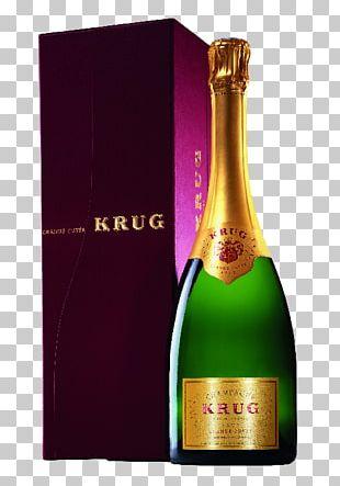 Champagne Krug Moët & Chandon Sparkling Wine PNG