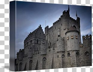Castle Gravensteen Middle Ages Medieval Architecture Château PNG