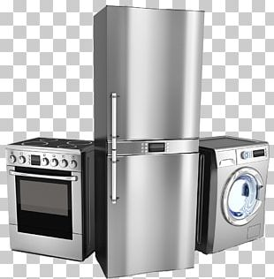 Home Appliance Major Appliance Washing Machines Refrigerator Clothes Dryer PNG