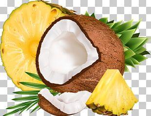 Coconut Water Pineapple Flavor Fruit PNG