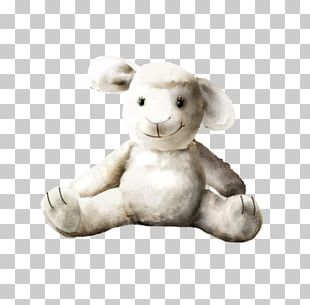European Rabbit Stuffed Toy PNG