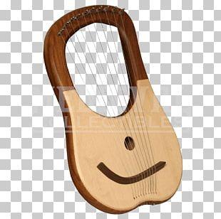 Lyre Plucked String Instrument Celtic Harp String Instruments PNG