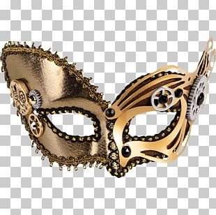 Masquerade Ball Costume Party Mask PNG