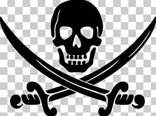 Piracy Jolly Roger Logo PNG