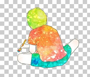 Child Watercolor Painting Drawing PNG