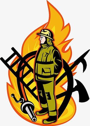 Features Fireman Icon PNG