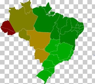 Regions Of Brazil Map PNG
